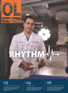 Restoring Rhythm Cover Story