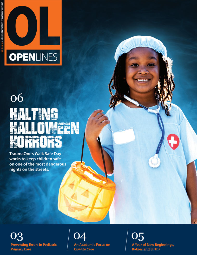 Cover for October 2018 Issue