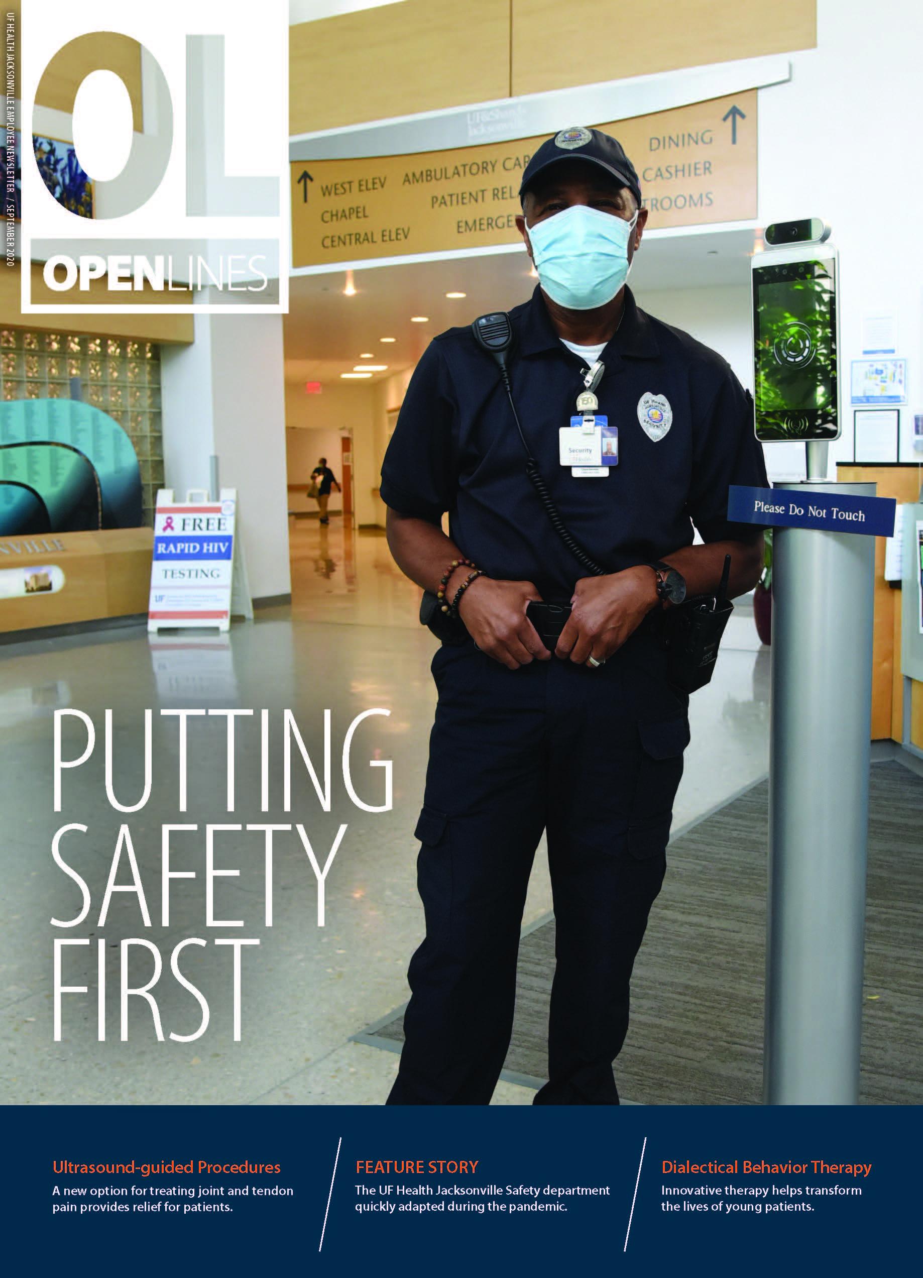 Cover for September 2020 Issue